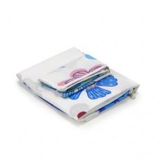 Чехол для гладильной доски Dazzl белый с цветами