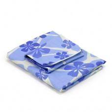 Синий с цветами чехол для доски Dazzl EZ-71