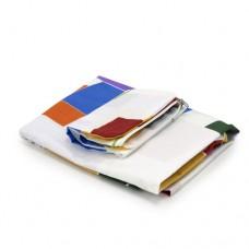 Чехол для гладильной доски Dazzl белый с квадратами